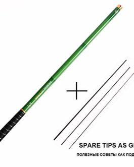 Love essentials Fishing rod Canne à pêche télescopique en Fibre de Carbone pour pêche à la Carpe Tenkara, olta, 1 pièce/Lot de 3 m à 7,2 m