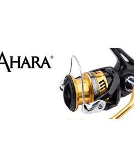 Shimano Sahara 2000 HG S FI, Moulinet Spinning avec Frein Avant, Bobine peu profonde, SHC2000HGSFI