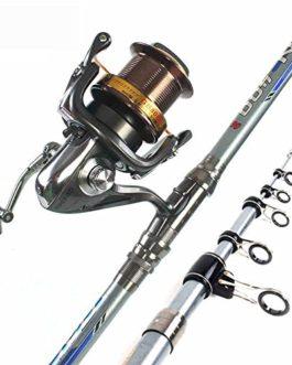Miao Canne à pêche, Long, Section Long Shot Carbone Super dur Ensemble tringle à la mer