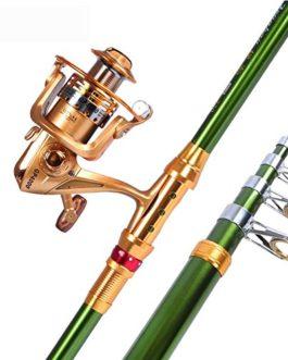 Miao Canne à pêche, Long, prise de vue Super rigide Carbone Mer Pôle de pêche Gear Combinaison