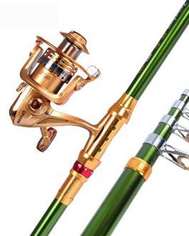 Miao Canne à pêche, Super rigide Carbone Mer Ensemble tringle Long Shot Couvre-lit Pole Mer Thunder Barre de pêche Gear Combinaison