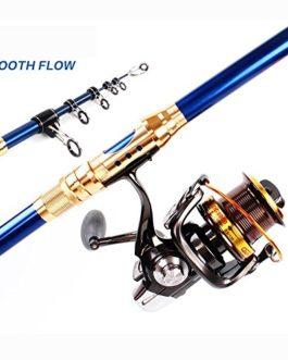 Miao Canne à pêche, Super rigide Carbone longue Section Long Shot Ancre Canne à pêche Mer Pole Lot