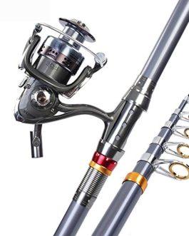 Miao Canne à pêche, carbone longue vue Mer Pole de gamme complète d'équipement de pêche
