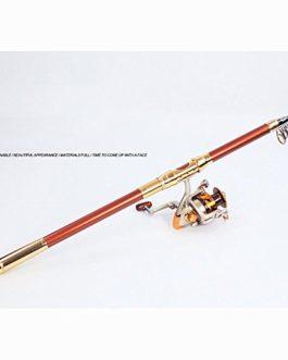 Miao Canne à pêche, carbone, ultraléger dur Ensemble complet d'équipement de pêche