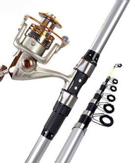 Miao Cannes à pêche, carbone dur Canne à pêche/couvre-lit Pole tiges de pêche Gear Fournitures