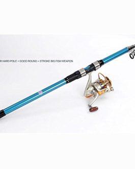 Miao point de la tige, carbone en métal Roue de pêche Long Shot Pêche en mer Gear