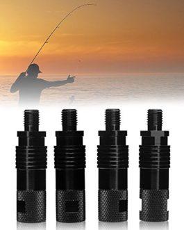 Générique Neuf 4pcs/lot TOMOUNT Pêche à la Carpe connecteur Pod déconnexion Rapide Facile à Installer au Banque en Alliage d'aluminium bâton détecteurs de Touche