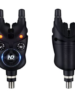 Coffret 2*détecteurs carpe New Direction Tackle K9 + 1*R9 Bluetooth récepteur presentation set