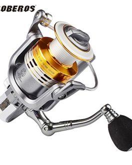 PRO BEROS 11BB Roulements à billes Type Rouleaux de pêche Anti-eau de mer Gauche Droite Moteur à rotation interchangeable Ratio d'engrenage: 5.2: 1