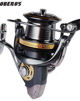 PRO BEROS 12BB + 1BB Roulements à billes Type Rouleaux de pêche 4.0: 1 Ratio d'engrenage Gauche Roue à rotation droite à rotation immédiate