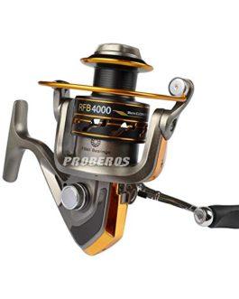 PRO BEROS 8BB Roulements à billes Type Rouleaux de pêche 5.2: 1 Rapport d'engrenage Gauche Roue à rotation droite à rotation droite