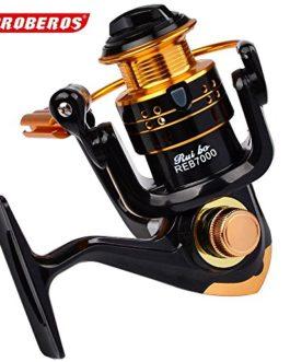 PRO BEROS Rouleaux à billes 12BB Type Rouleaux de pêche 5.2: 1 Rapport d'engrenage Gauche Roue à rotation droite à tambour interchangeable