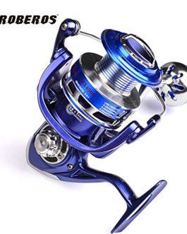 PRO BEROS Sunlure Full Metal Fishing Reel Ocean Boat Fishing Aluminium + Acier inoxydable 5.5: 1 Bobine de rotation 13BB MX3000-8000