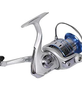 Pêche moulinets Spinning Moulinet de pêche 12+ 1BB anti-corrosion Poids léger Ultra lisse puissant