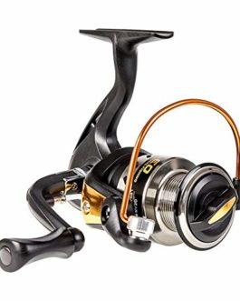 SHZJ AE3000 Series Spinning Reel Fishing 5.5: 1 Haute Vitesse en Aluminium en MéTal Corps De La Mer De La Mer De PêChe Pliant À Bascule Drag Drag Wheel Wheel, Black