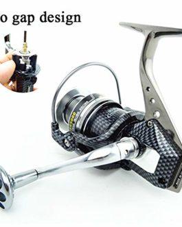 SHZJ Moulinet Spinning Body Metal Mix Drag 15kg / 32lb Super Force 13BB 5.5: 1 Moulinet De PêChe Eau De Mer