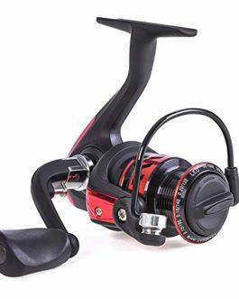 SHZJ Reel Spinning High Speed 5.1: 1 Rapport De Vitesse Metal Line Cup Reel Gauche/Droite Baitcasting Sea Fishing Wheel, Red