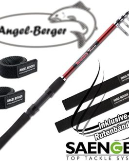 Angel-Berger sensitec Tele Travel Canne à pêche télescopique canne à pêche Band