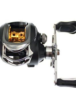 SKYSPER Moulinet de Pêche 10BB 6.3: 1 Moulinet Spinning Reel 9 Ball Roulements à Billes + d'un Embrayage Unidirectionnel Gauche ou Droite Poignée