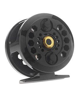 Sunhug (TM) Plastique Pêche moulinets Fly Fish savoir Bobine ancienne Bobine de pêche sur glace Bf600b 0,35mm/200m 1: 1Pêche de roue