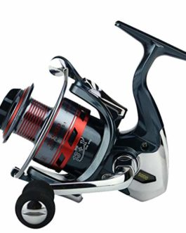 Xmiral Moulinet de pêche 14bb Full Metal Spinning Reel bobines coulée Fishing Reels Wheel