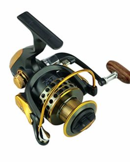 Xmiral Moulinet de pêche 14bb bobines Full Metal Spinning Reel coulée Fishing Reels Wheel
