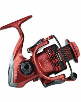 Xmiral Moulinet de pêche 14bb bobines Rouge Full Metal Spinning Reel coulée Fishing Reels Wheel