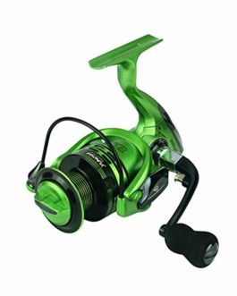 Xmiral Moulinet de pêche 14bb bobines Vert Full Metal Spinning Reel coulée Fishing Reels Wheel