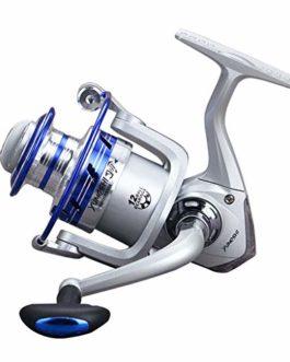CIELLTE Moulinets de Pêche 5.1: 1 12BB YUMOSHI 12 Axes Spinning Reel Moulinets de Pêche Engins de Pêche Roue à Poisson Roue de Daurade Roue de Pêche