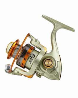 Xmiral Moulinet de pêche bobines Full Metal 5.2:1 Spinning Reel coulée Fishing Reels Wheel
