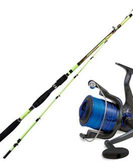 linea-effe Kit Canne à pêche Squid sépia EGING Capture 210+ Moulinet Shizuka 5000