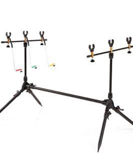 lixada Fishing Rod Pod Support réglable canne à pêche Pod support Pêche Pêche Accessoires Tackle