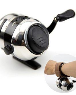zreal nouvelle verborgene katapulte fermé à boules de poissons de Tir de Chasse de contrôle de moulinet avec fil en nylon