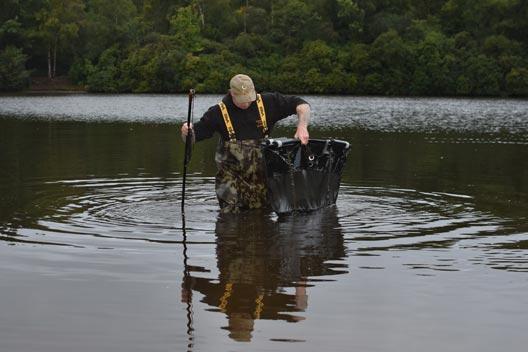 Pêche à la carpe – Beaucoup dans le réservoir – Ian Lewis