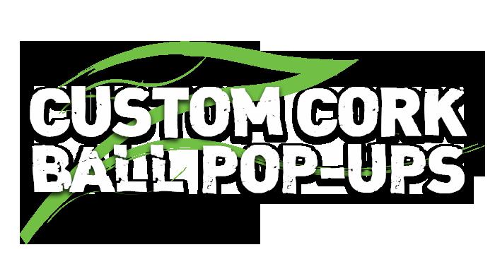 Pêche à la carpe – Pop-ups de boule de liège personnalisées – Tom Oliver
